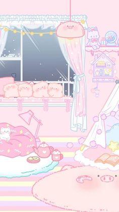Wallpaper Sky, Vintage Wallpaper, Cute Pastel Wallpaper, Aesthetic Pastel Wallpaper, Cute Anime Wallpaper, Wallpaper Iphone Cute, Aesthetic Wallpapers, Disney Wallpaper, Pink Wallpaper Kawaii