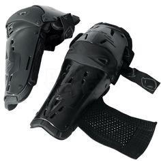 UFO Full Flex Professional Knee Shin Guards - Black