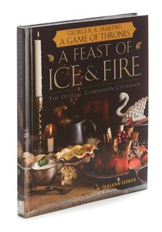 A Feast of Ice & Fire. If youve ever dreamt of clinking goblets with Tyrion Lannister over a gourmet meal in Kings Landing, this fantastical cookbook is a dream come true! #multi #modcloth