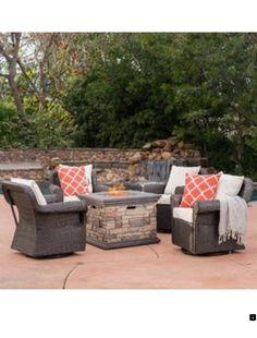 best 25 fire pit table set ideas on pinterest fire pit. Black Bedroom Furniture Sets. Home Design Ideas