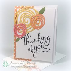 I pulled out someof my favorite new products for this post. I combined Stampin' Up!'s new Swirly Bird Photopolymer Stamp Set and their coordinating dies, Swirly Scribbles (which awesomely can be bundled for a 10% savings) withone of the new...