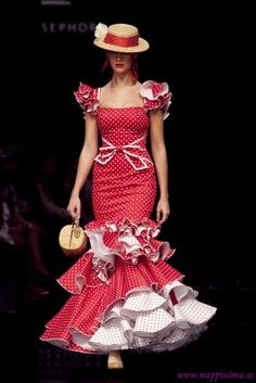 Colección: Whatever Lola Wants  por  Cañavate  en  Simof 2011 Flare Dress, Dress Up, Beautiful Dresses, Nice Dresses, Flamenco Costume, Flamenco Dancers, Spanish Dress, Spanish Fashion, Ballroom Dress