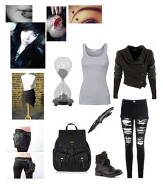 """Time"" by normal-people-scare-me1 ❤ liked on Polyvore featuring Glamorous, Splendid, Accessorize and Dot & Bo"