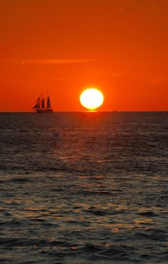 Sunset Key West, Florida