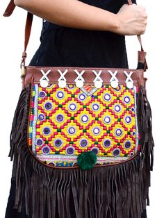 Fantastic Fringe vintage boho chic bohemian tribal ethnic indo-western handmade handcrafted quirky gypsy unique pom-pom tassel made in india bags ideas antique beautiful cool awesome indian wedding festive festival diwali party desi designer earrings design bollywood colorful bright mandalas hand painted india fashion exotic fringe afghani traditional statement sangeet mehendi bridesmaid kutchi afghan crotchet pink yellow green blue red golden purple orange bridal style fashion etsy beads…