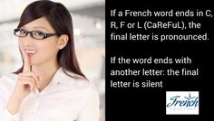Should You Pronounce the Final Letter of French Words?