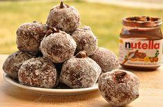 Nutella Filled Venetian Frittelle. NUTELLA! LOVE IT!