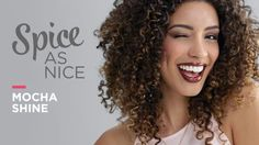 Spice As Nice with Mocha Shine! Create a deep brown lip to create a tasty treat,