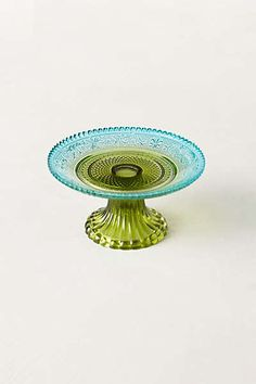Anthropologie - Color Blocked Cake Stand