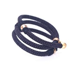 Wrap around bracelet. Rope & Threading. Ancient world meets Industrial revolution with a contemporary twist. www.labordeshop.com