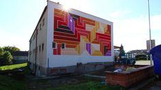 Street Art - The municipal library Chrastany Library Week, Street Art, Fair Grounds, Community, Projects, Motto, Book, Activities, Design