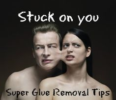 3 quick tips on how to remove superglue from tables, skin, or other objects in your crafting life.