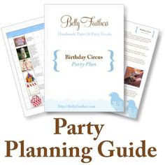 Circus / Carnival Birthday Party Planning Guide