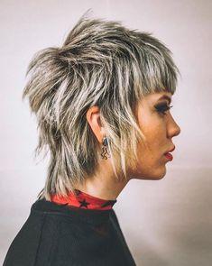 Short Choppy Layered Hair, Short Hairstyles For Thick Hair, Short Hair Styles Easy, Hairstyles With Bangs, Short Hair Cuts, Pixie Hairstyles, Hairstyles 2016, Baddie Hairstyles, Vintage Hairstyles