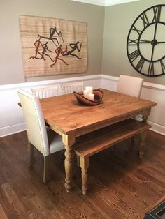 Farmhouse Dining Tables - Authentic English Farmhouse Dining Table ...