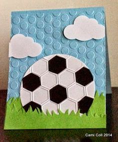soccer ball card