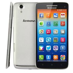 [$152.00] Lenovo Vibe X S960 16GB 5.0 inch 3G Android 4.2.2 Phablet, MTK6589W, 1.5GHz Quad Core, RAM: 2GB, WCDMA & GSM(White)