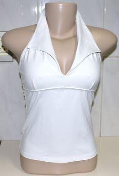 Blusa Branca Frente Única - Café Brechó Online b855c766872