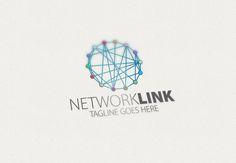 Network Link Logo by Esse Logo Studio on Creative Market
