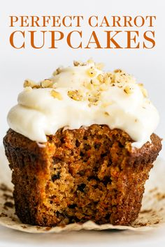 Easy Cake Recipes, Baking Recipes, Dessert Recipes, Carrot Cake Recipes, Homemade Cupcake Recipes, Best Carrot Cake Muffin Recipe, Best Carrot Cake Cupcake Recipe, Recipes Dinner, Best Carrot Cake Recipe From Scratch