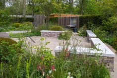 The Cloudy Bay Garden in association with Vital Earth Designed by Harry and David Rich — na lokaciji RHS Chelsea Flower Show.