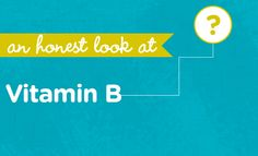 What is Vitamin B2 (Riboflavin)? | via @Matty Chuah Honest Company blog