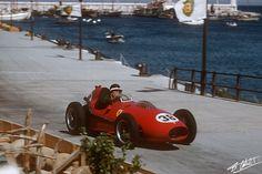 Hawthorn 1958 Monaco - Ferrari D246 -