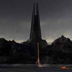 I don't think that Darth Vader's castle on Mustafar gets enough love Star Wars Planets, Star Wars Rpg, Star Trek, Star Wars Concept Art, Star Wars Fan Art, Star Wars Pictures, Star Wars Images, Darth Vader Castle, Darth Maul