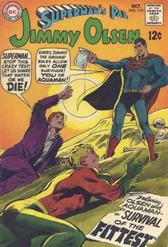 25 Hilarious Vintage Comic Book Covers #comic #cover #superman
