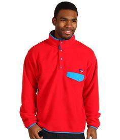Patagonia Lightweight Synchilla® Snap-T® Aurora/Channel Blue