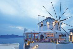 Mylos Bar Restaurant, is one of the best Restaurants in Santorini. Restaurant Exterior, Restaurant Bar, Wine List, Santorini, Fair Grounds, Cocktails, Europe, Travel, Gardens