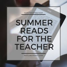 Professional learners such as teachers are always learning; here are some worthwhile reads to consider this summer. Let's remember to celebrate that summer can be a time to learn in another way, by reading. Curriculum, Homeschool, Importance Of Time Management, Always Learning, Books To Read, Writing, Piano Lessons, 3d Printing, Teacher Summer