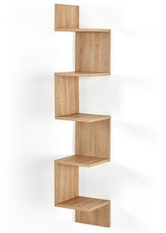 Jetzt anschauen: Praktisches Regal für ungenutzte Ecken. Die 5Fächer bieten viel Platz für Deko, Bücher und Co. Lieferung erfolgt mit Aufbauanleitung aber ohne Wandmontagematerial.