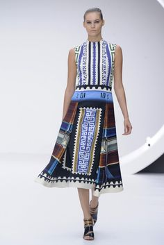 Mary Katrantzou RTW Spring 2013 - Runway, Fashion Week, Reviews and Slideshows - WWD.com