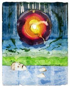 Maurice Christo van Meijel: Ma (2005) inkt op papier, 97 x 77 cm.