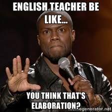 english teacher meme - Google Search
