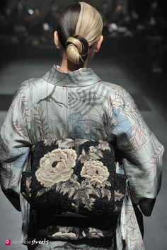 Autumn/Winter 2013 Collection of Japanese fashion brand JOTARO SAITO on March 18, 2014, in Tokyo.