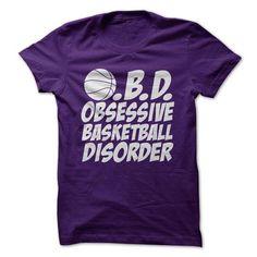 O B D Obsessive Basketball Disorder T Shirts, Hoodies. Check price ==► https://www.sunfrog.com/Sports/OBD-Obsessive-Basketball-Disorder.html?41382