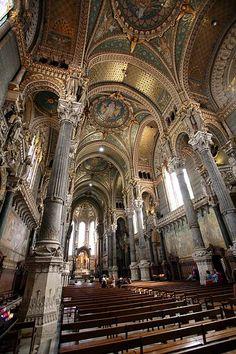 Basilica of Notre-Dame de Fourvière interior