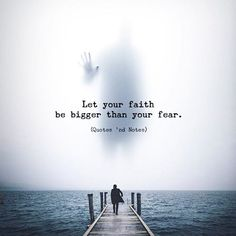 Let your faith be bigger..