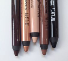 Large blend-able pencils that can be used as an eyeshadow or an eyeliner