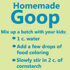 Kids Homemade GOOP