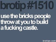 build castles
