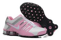 chaussures nike shox current running femme (rose/blanc/argent) pas cher en ligne.