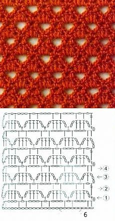 Openwork Crochet Stitch - Knitting Bee
