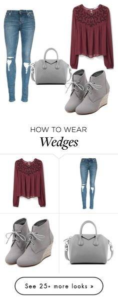 """Untitled #1481"" by marta-moreno-1 on Polyvore featuring WithChic, MANGO, Givenchy, women's clothing, women, female, woman, misses and juniors"