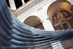 NU:S parametric installation_cloister of bramante_rome   design by: Arturo Tedeschi + Maurizio Degni   event by: Double Studio