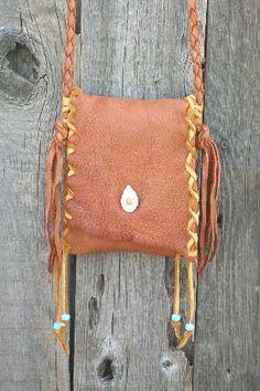 Leather smartphone bag Leather crossbody handbag