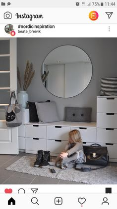 Ikea completely completes the of this white and gray hall with some . ideas ideas 2020 ideas colours ideas grey ideas ikea ideas paint ideas small ideas storage ideas uk ideas with radiator cover Diy Furniture Videos, Diy Furniture Table, Diy Furniture Plans, Hallway Storage, Ikea Storage, Ikea Hallway, Hall Storage Bench, Hall Storage Ideas, Storage Benches