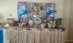 another beach themed candy bar
